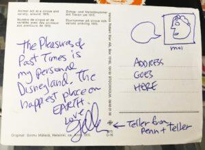 Postcard from Teller