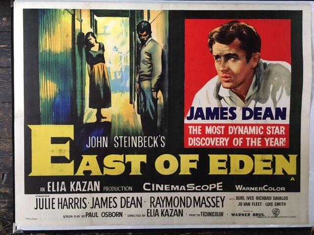East of Eden James Dean cult movie poster print #8