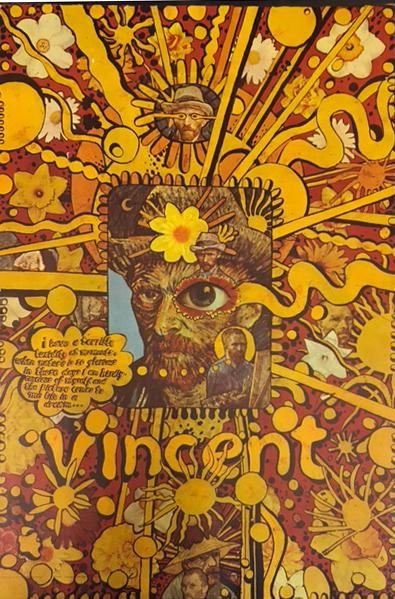 Martin Sharp 1968 UK Vincent Van Gogh Poster : Pleasures of Past Times