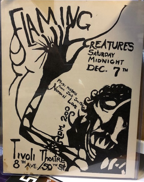 Jack Smith Flaming Creatures 1963 Flyer Pleasures Of Past Times