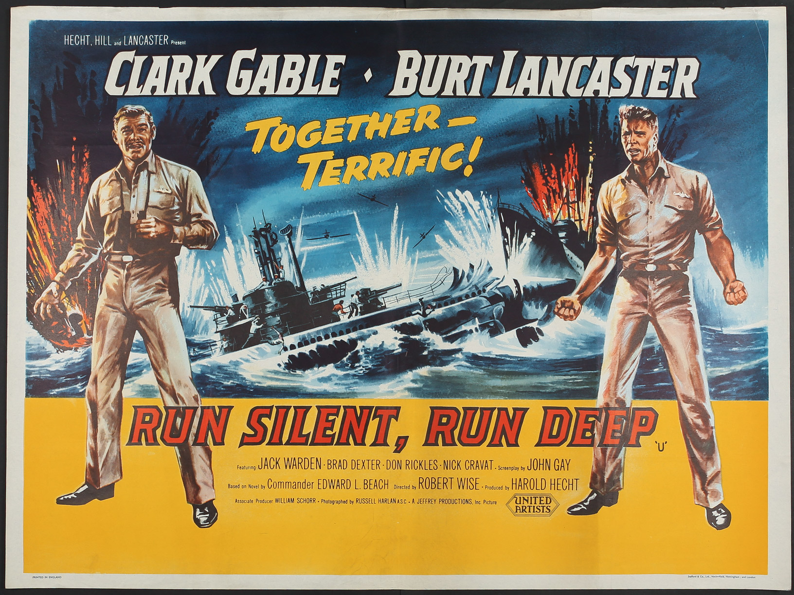 Image result for run silent run deep